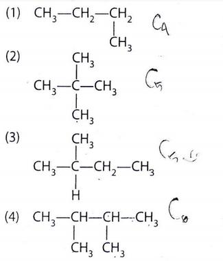 Perhatikan senyawa-senyawa berikut. Senyawa yang merupakan isomer ditunjukkan oleh nomor… A. (1)dan(2) B. (1)dan(3) C. (1)dan(4) D. (2)dan(4) E. (2)dan(3)