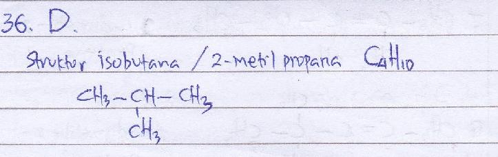 isobutana berisomeri dengar 2-metilpropana. SEBAB. Isobutana adalah nama lain dari 2-metilpropana.